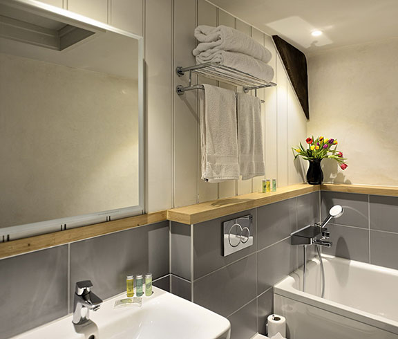 accommodation with bathroom