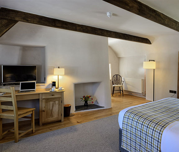 Holiday cottage rooms